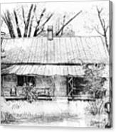 Sandersville Road Farmhouse Canvas Print