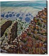 Looking Down From The Sandia Mountains Canvas Print