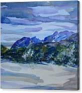 Sandia Mountains Canvas Print
