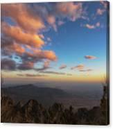 Sandia Peak Canvas Print