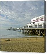 Sandown Pier Canvas Print