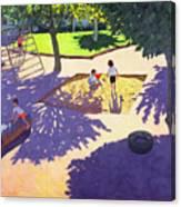 Sandpit Canvas Print