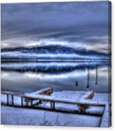 Sandpoint From 41 South Canvas Print