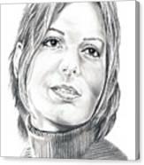 Sandra Bullock Canvas Print