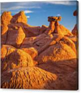 Sandstone Castle Canvas Print