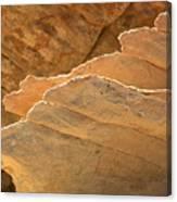 Sandstone Fins Canvas Print