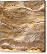 Sandstone Formation Number 3 At Starved Rock State Canvas Print