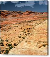 Sandstone Landscape Valley Of Fire Canvas Print