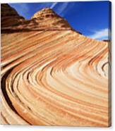Sandstone Slide Canvas Print
