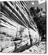 Sandstone Wall Canvas Print