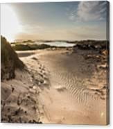 Sandy Beach Haven Canvas Print