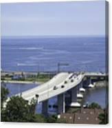 Sandy Hook Bridge Canvas Print