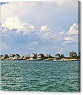 Sandy Neck Cottage Colony Canvas Print
