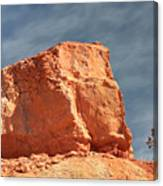 Sandy Rock In Morning Light Canvas Print