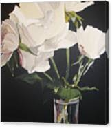 Sandys Roses Canvas Print