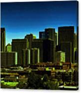 Sanfrancisco Sky Line Canvas Print