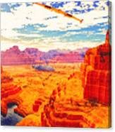 Sangry Valley Canvas Print