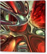 Sanguine Abstract Canvas Print