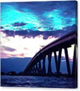 Sanibel Causeway Bridge Canvas Print