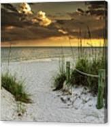 Sanibel Island Beach Access Canvas Print