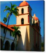 Sannta Barbara Mission Canvas Print