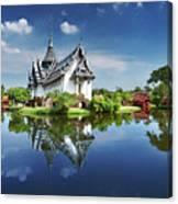 Sanphet Prasat Palace, Thailand Canvas Print