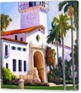 Santa Barbara Court House Canvas Print