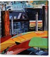 Santa Barbara Harbor Canvas Print