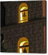 Santa Barbara Mission Bell Tower Canvas Print