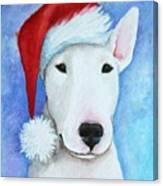 Santa Bully Canvas Print