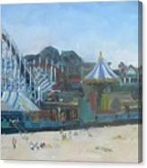 Santa Cruz Boardwalk Canvas Print