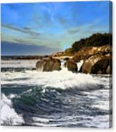 Santa Cruz Coastline Canvas Print