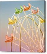 Santa Cruz Ferris Wheel Canvas Print