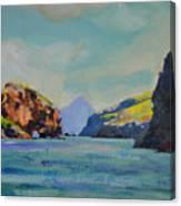Santa Cruz Island Canvas Print