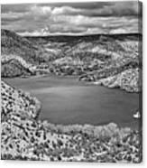 Santa Cruz Lake, New Mexico, April 18, 2016 Canvas Print