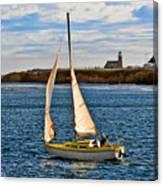 Santa Cruz Mark Abbott Memorial Lighthouse Ca  Canvas Print