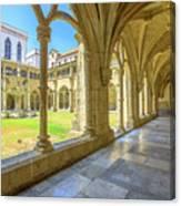 Santa Cruz Monastery Canvas Print