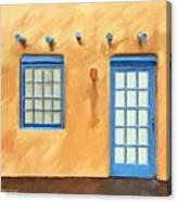 Santa Fe 5 Canvas Print