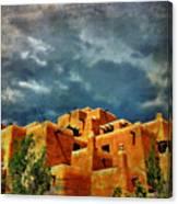 Santa Fe Adobe Canvas Print