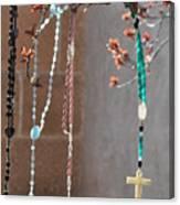 Santa Fe Crosses Canvas Print