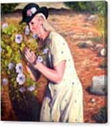 Santa Fe Garden 2   Canvas Print