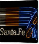 Santa Fe Indian Canvas Print