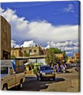 Santa Fe Plaza 2 Canvas Print