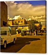 Santa Fe Plaza Canvas Print