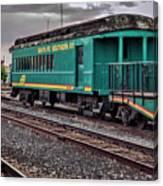 Santa Fe Rail Yard Canvas Print