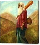 Santa Fe Sam Canvas Print