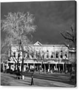 Santa Fe Town Square Canvas Print