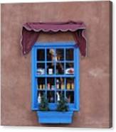 Santa Fe Window Canvas Print