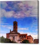 Santa Francesca Romana 2 Canvas Print