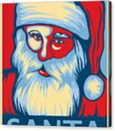 Santa Hope Canvas Print